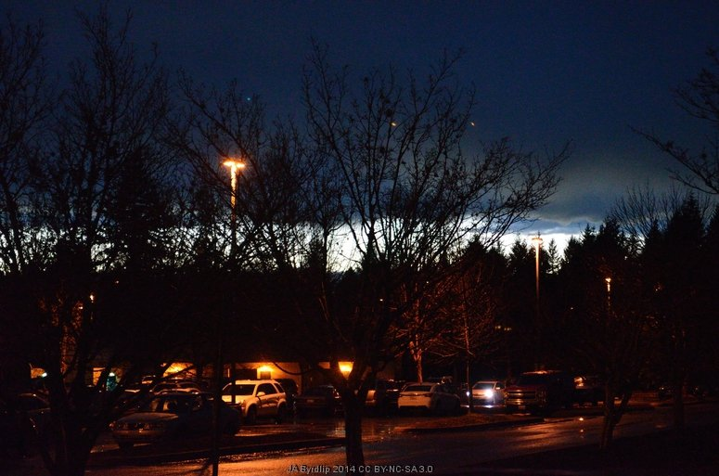 Winter Sunset by byrdlip