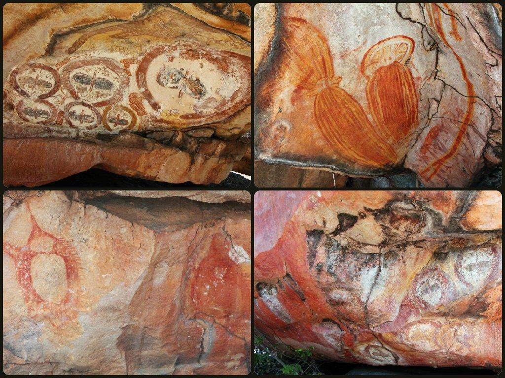 Day 8 - Munurru Rock Paintings 2 by terryliv
