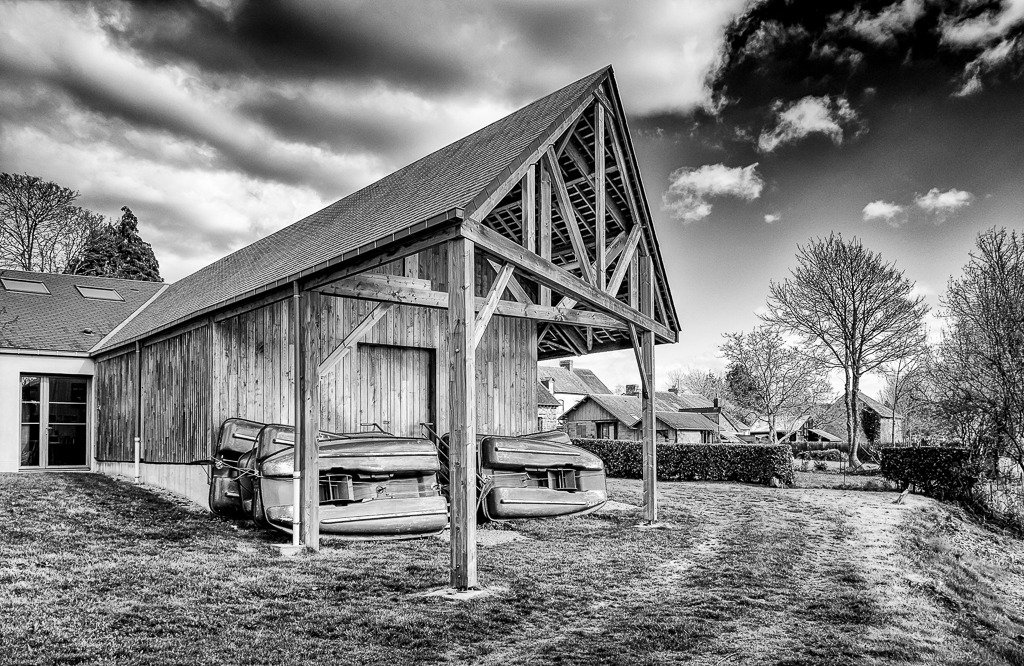Boat Shed by vignouse
