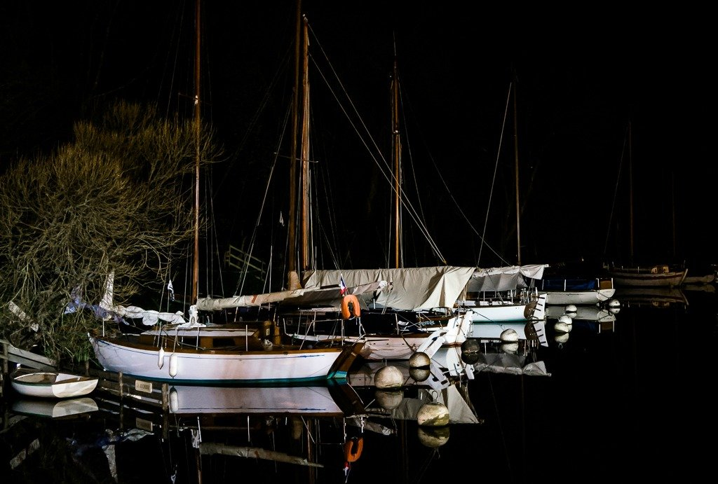 Night Moorings by vignouse