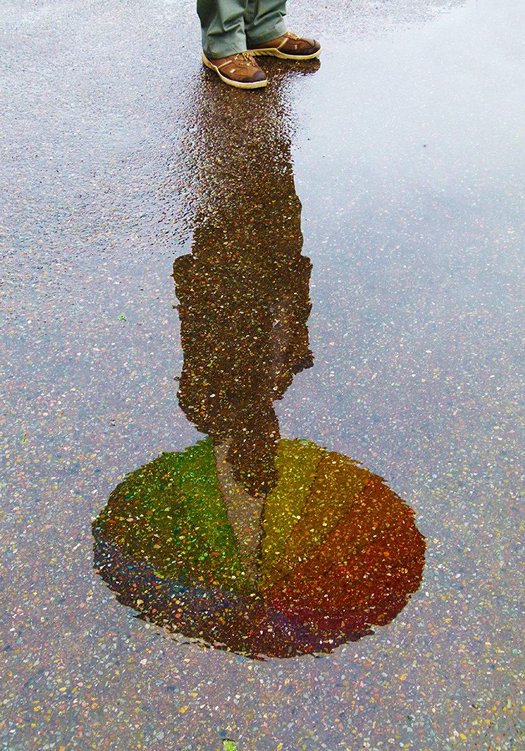 Fallen Rainbow by onewing