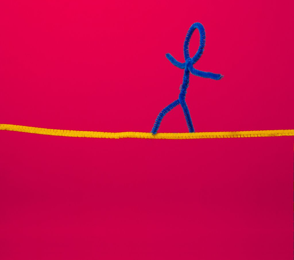 (Day 128) - Tightrope Walker by cjphoto