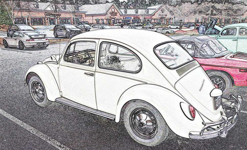 1967 VW Beetle by soboy5