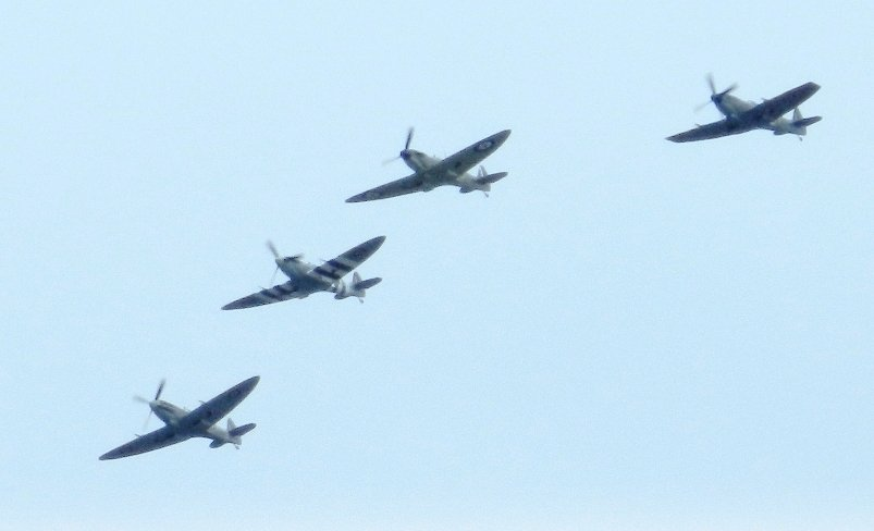 Flypast by fishers