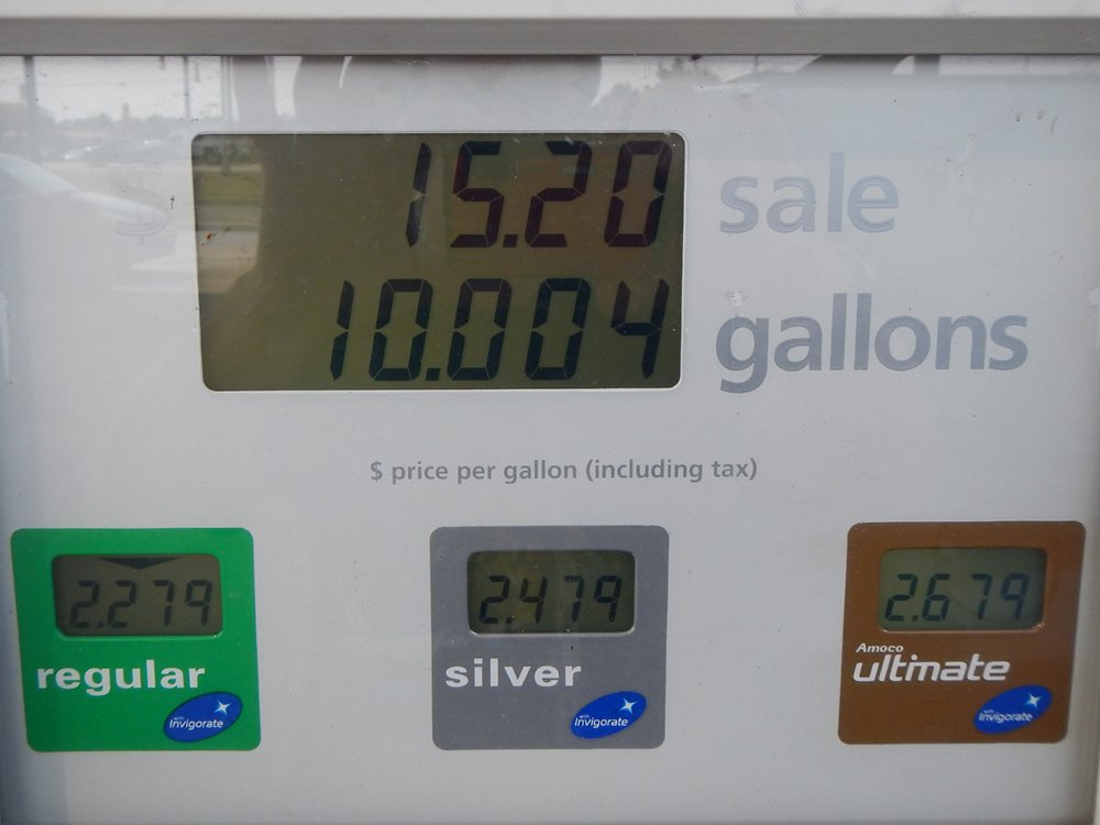 Travel day: Fuel prices in the heartland by rhoing