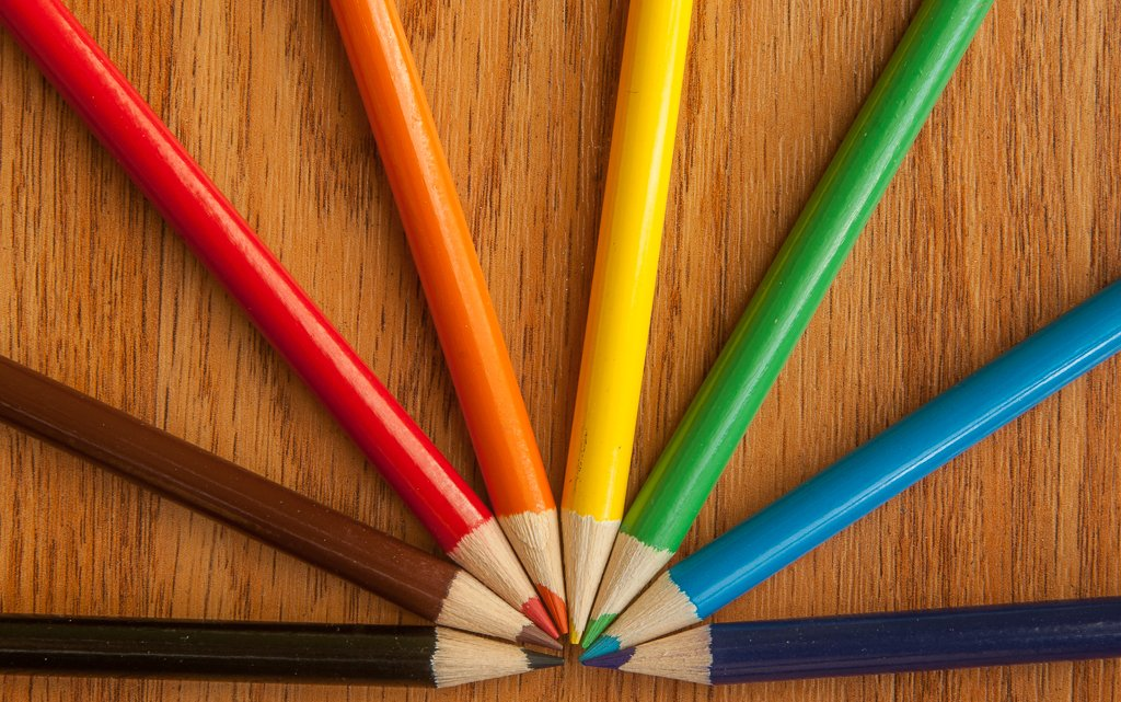 (Day 232) - Colored Pencils by cjphoto
