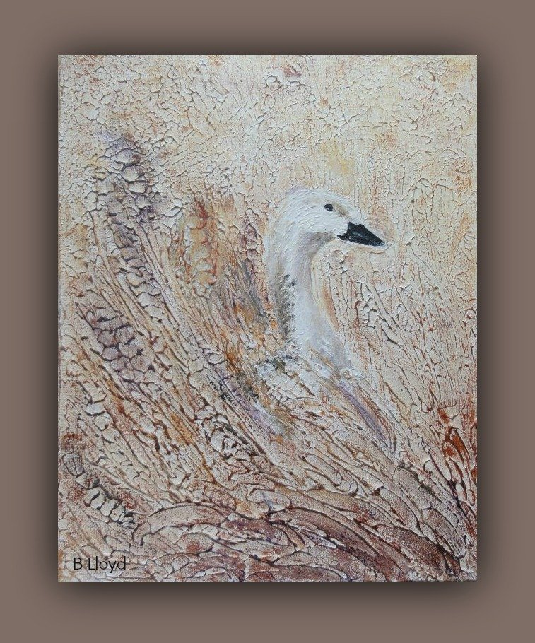 Goose in the Cornfield by beryl