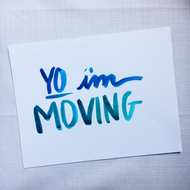 Yo! I'm moving. by sarahlh