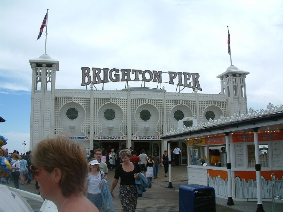 Brighton Pier.... by brickmaker