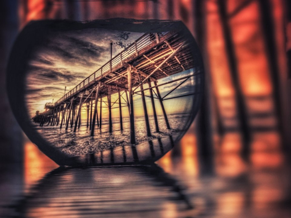 Oceanside Pier, Revisited by taffy