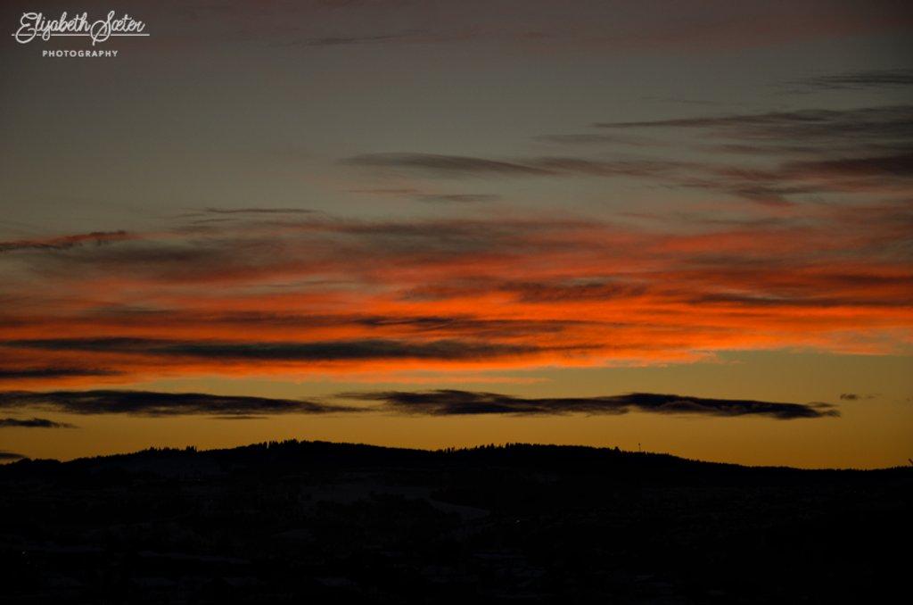 Beautiful sky by elisasaeter