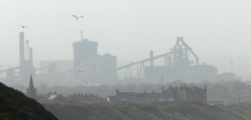 Redcar Steelworks by fishers