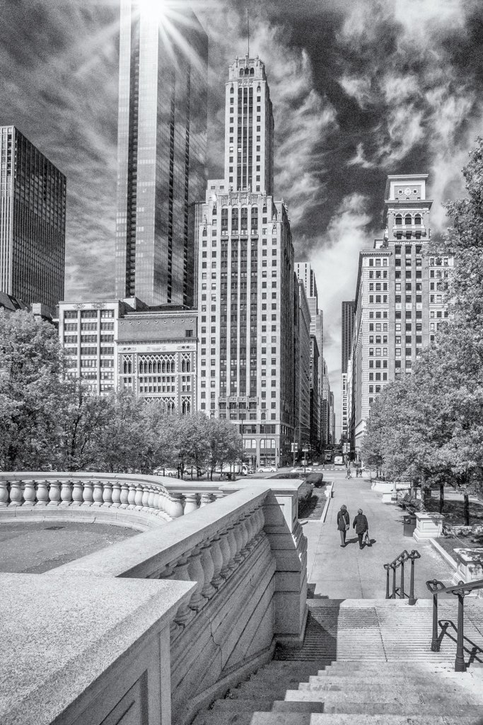 2016 05 10 View from Millenium Park by pamknowler