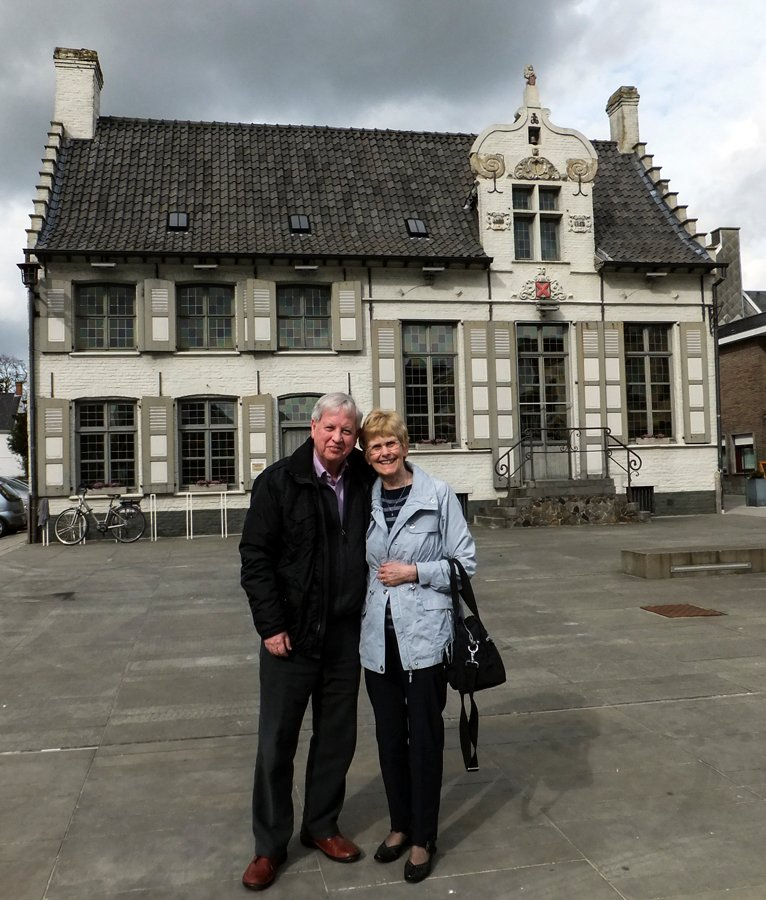 Us at Oedelem, Belgium in April by ivan