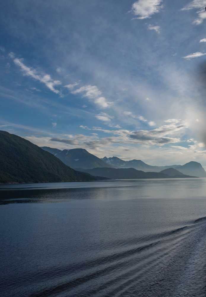 Leaving Geiranger fjord by inthecloud5