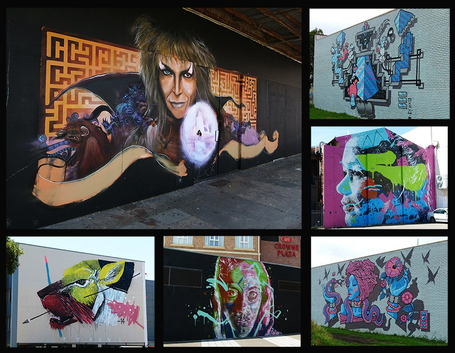 Street Art Collage by onewing