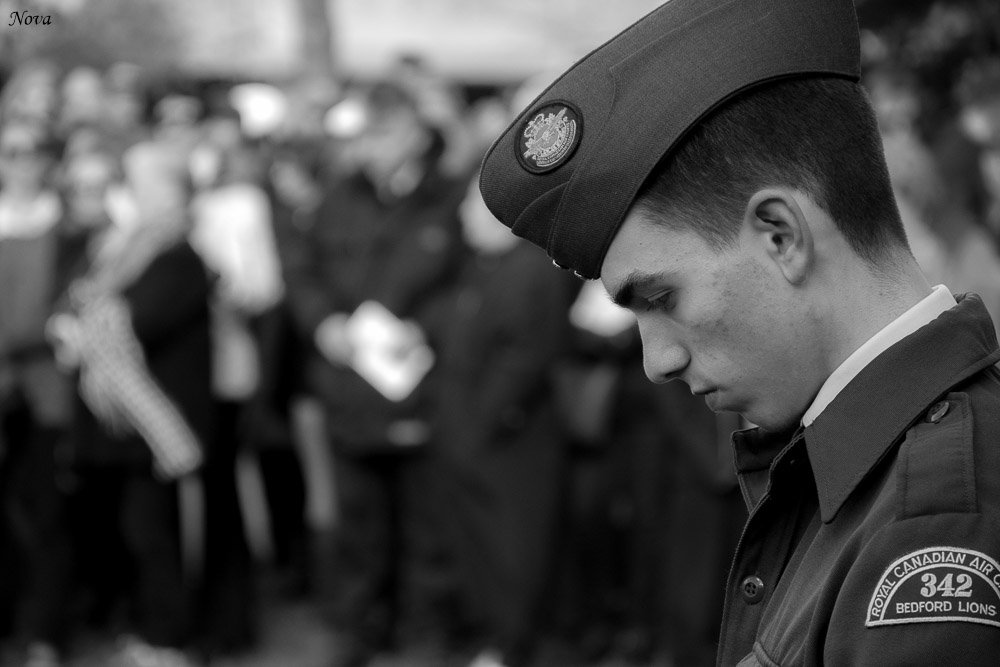 Remembrance Day Ceremony  by novab