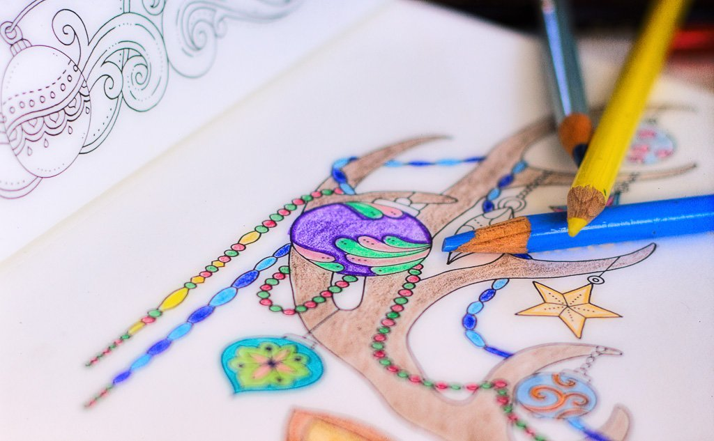 Christmas coloring by aecasey