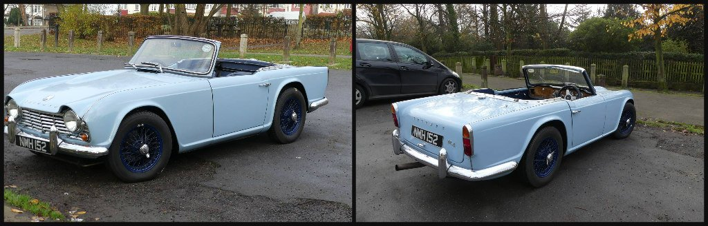 Triumph TR4 (1962) by snoopybooboo