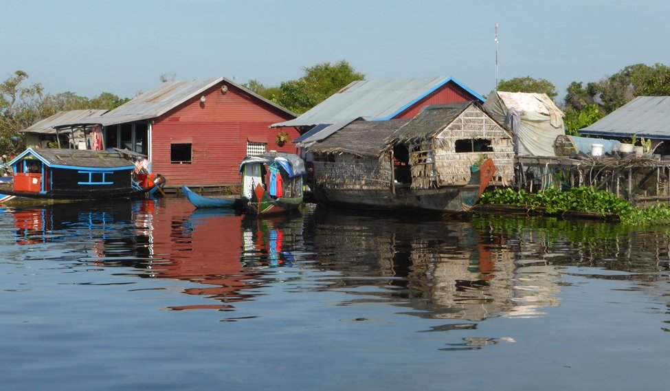 Cambodia: Sanker River trip  by helenhall