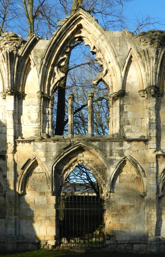 Ruins of St Mary's Abbey, York by fishers
