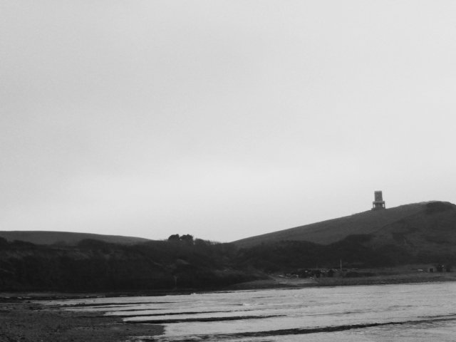 Clavell Tower at Kimmeridge Bay, Dorset by 30pics4jackiesdiamond