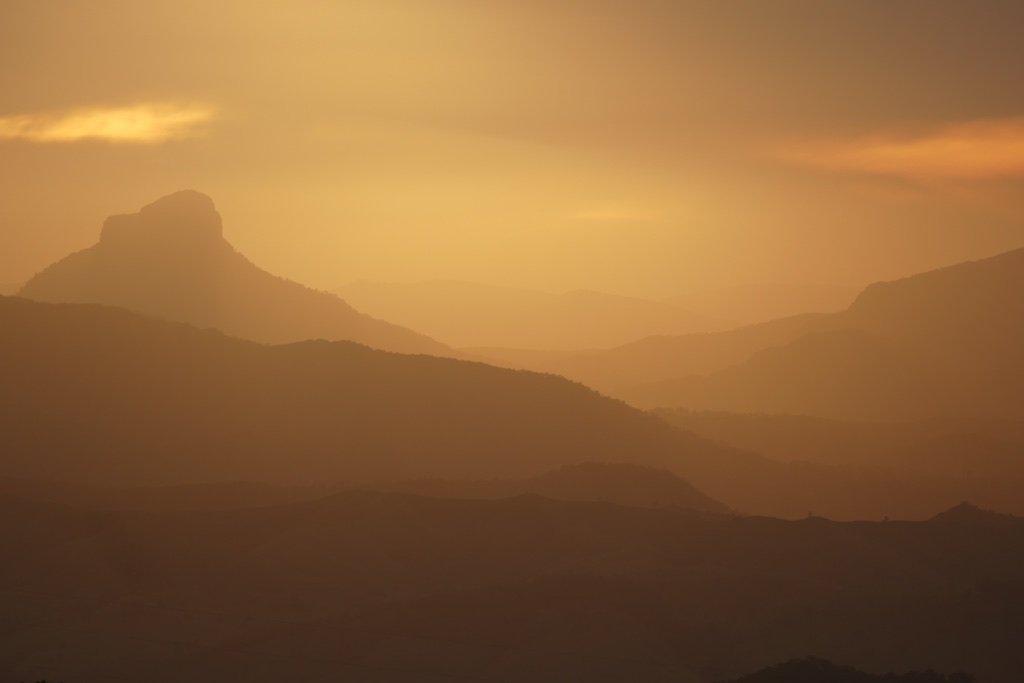 Sunset Lamington National Park by hrs