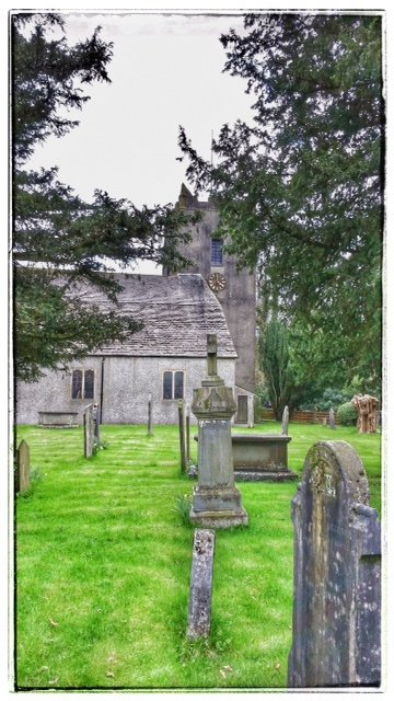 St Oswald's Church in Grasmere by lyndamcg