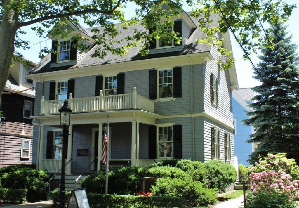 John F. Kennedy Birthplace by deborahsimmerman