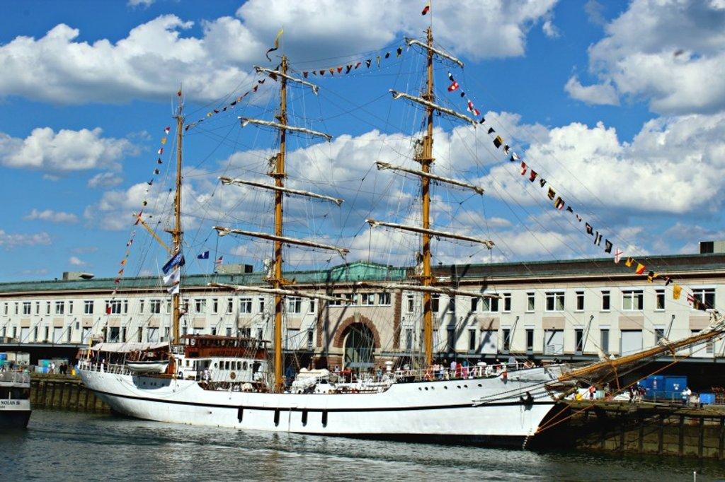 Tall Ships in Boston by deborahsimmerman
