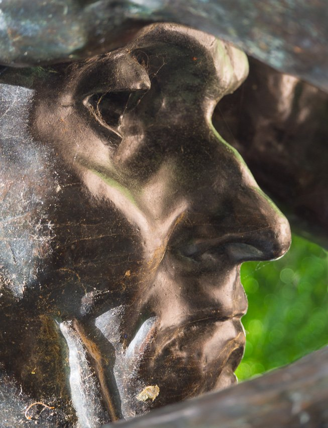 The Weeping Burgher (Andrieu d'Andres) by Rodin by fotoblah