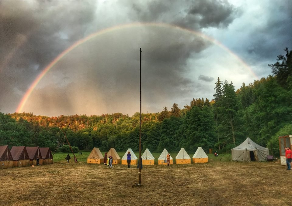 Scout camp romantic by pavlina