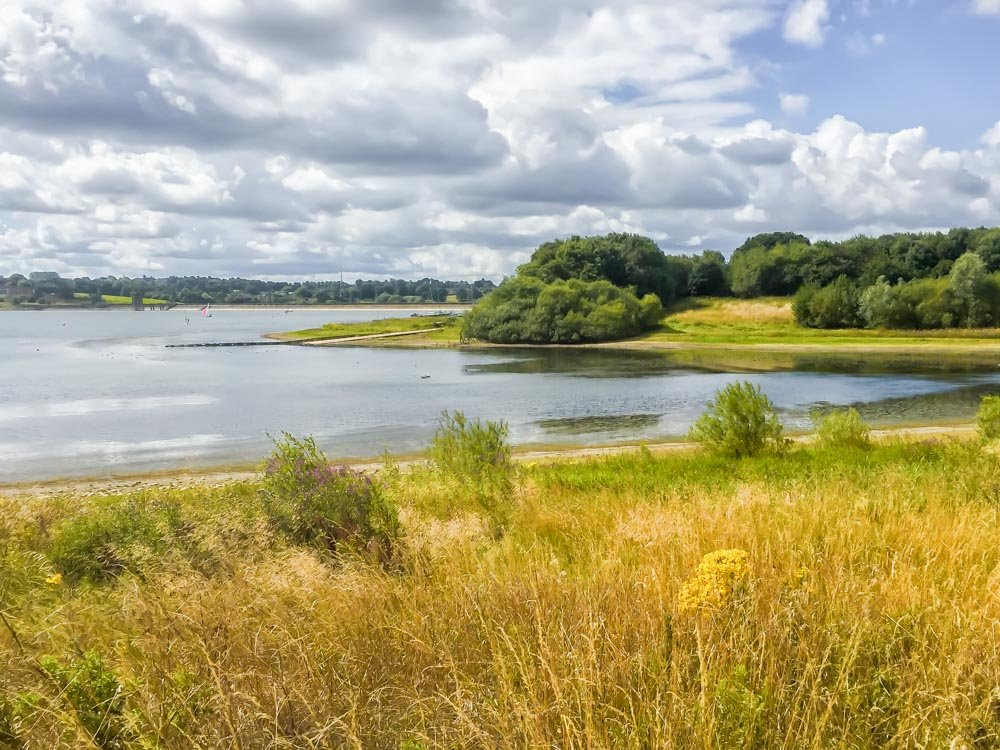 View over the reservoir  by pamknowler