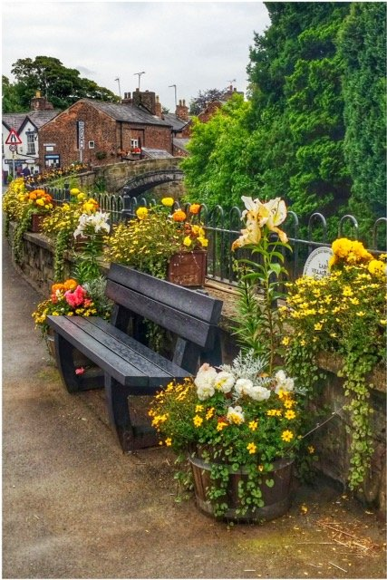 Another view of Croston village by lyndamcg