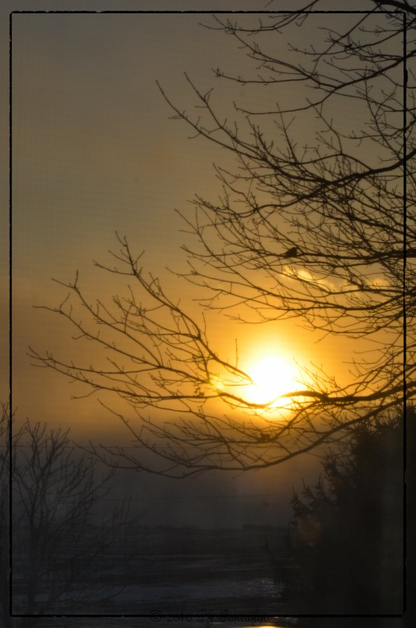 First Sunrise of 2011 by bluemoon