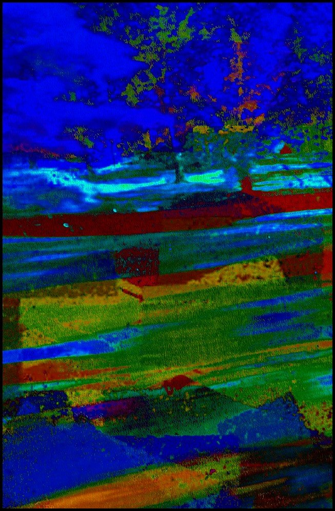 Abstract Challenge 1 by olivetreeann