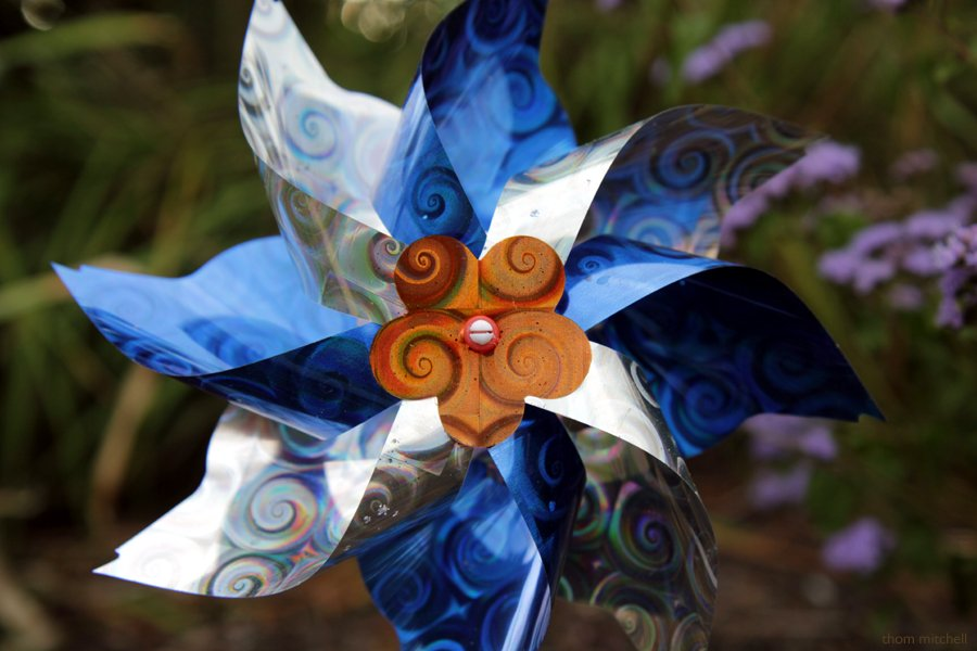 Garden pinwheel (Nifty-fifty challenge) by rhoing
