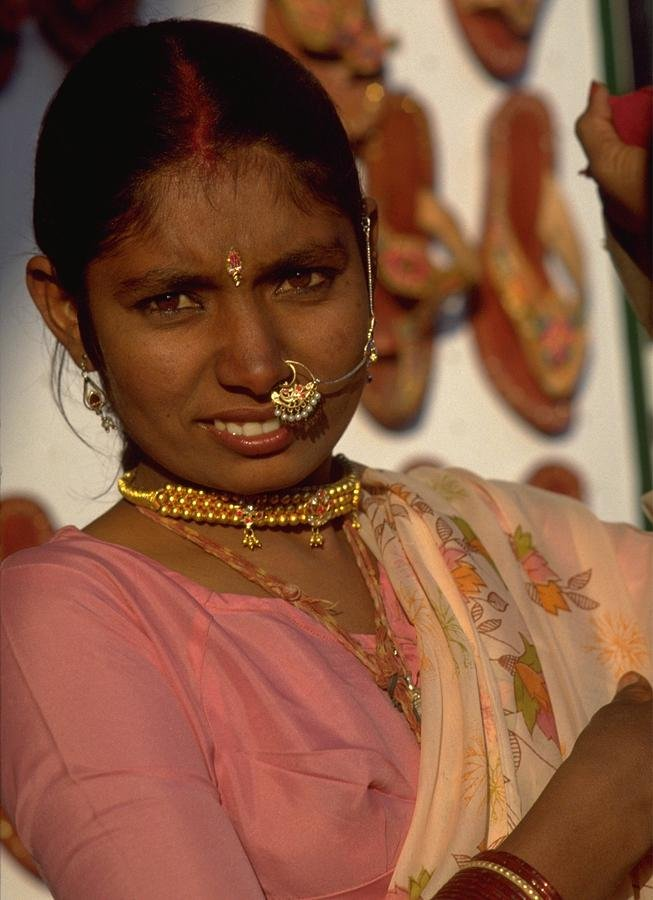 01 Facial Jewellery - Rajasthan, India by travel
