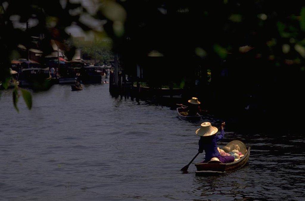 24 Bangkok Floating Market, Thailand by travel
