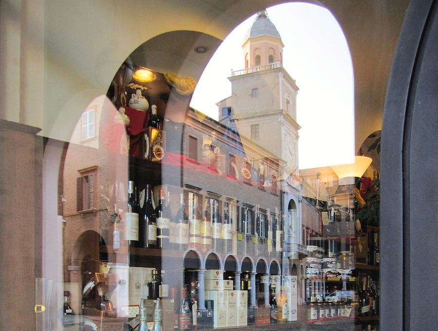36 Reflections in Modena, Italy by travel