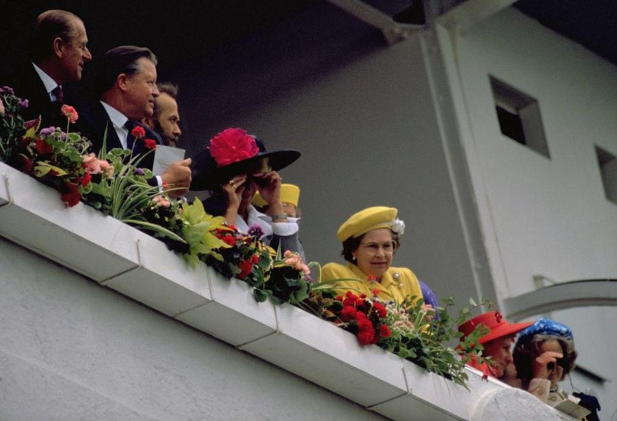 50 Queen and Prince Phillip at The Races by travel