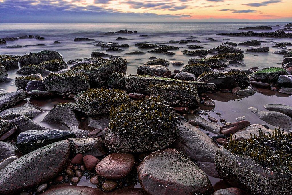 Fleswick Bay by ellida