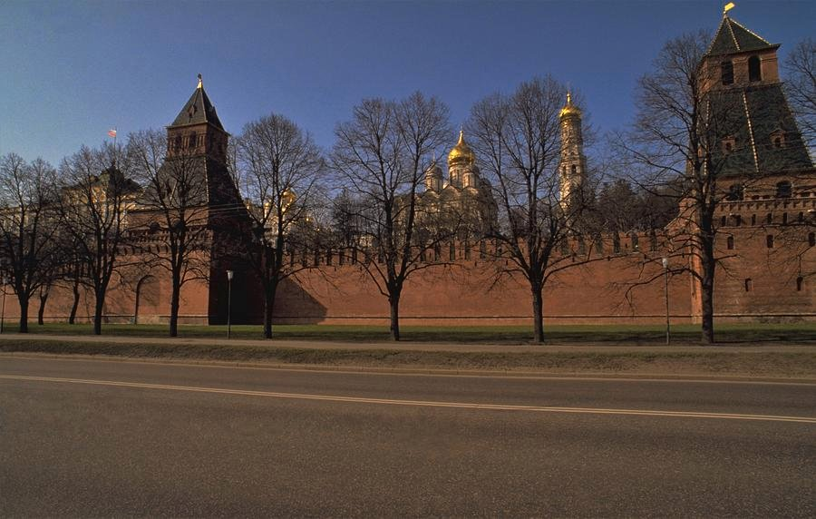 63 Moscow Kremlin in Winter by travel