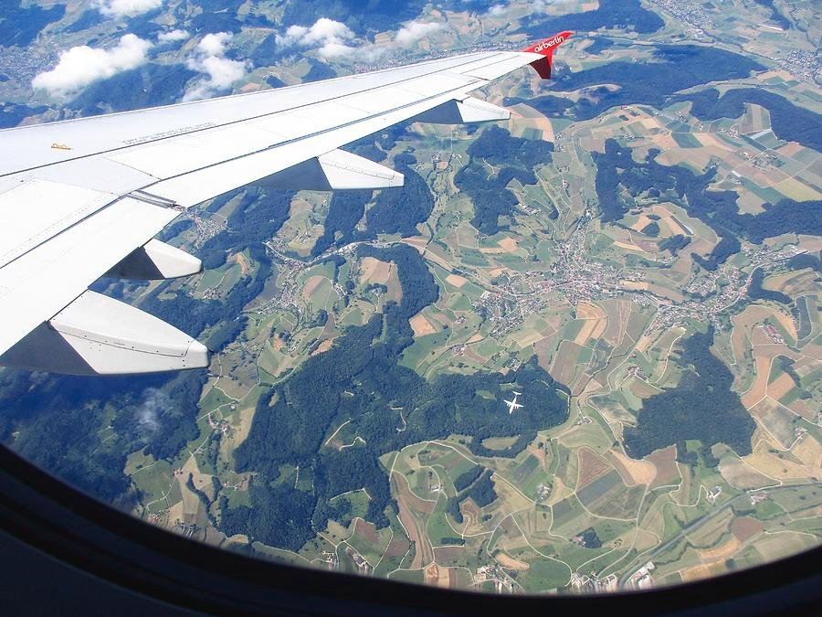 67 Air Berlin Over Switzerland by travel