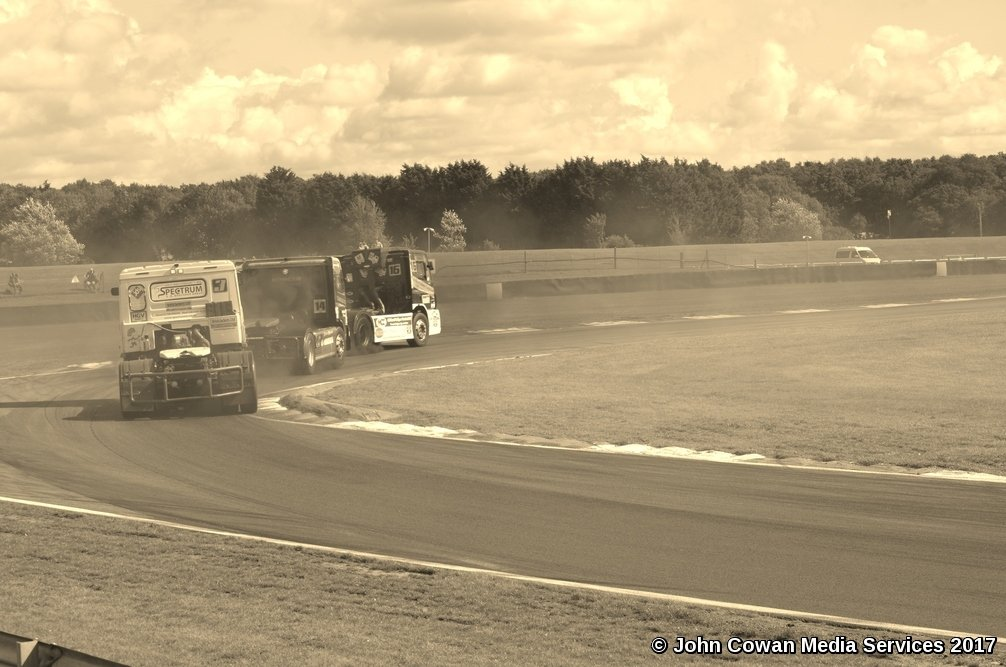 Truck Racing  by motorsports
