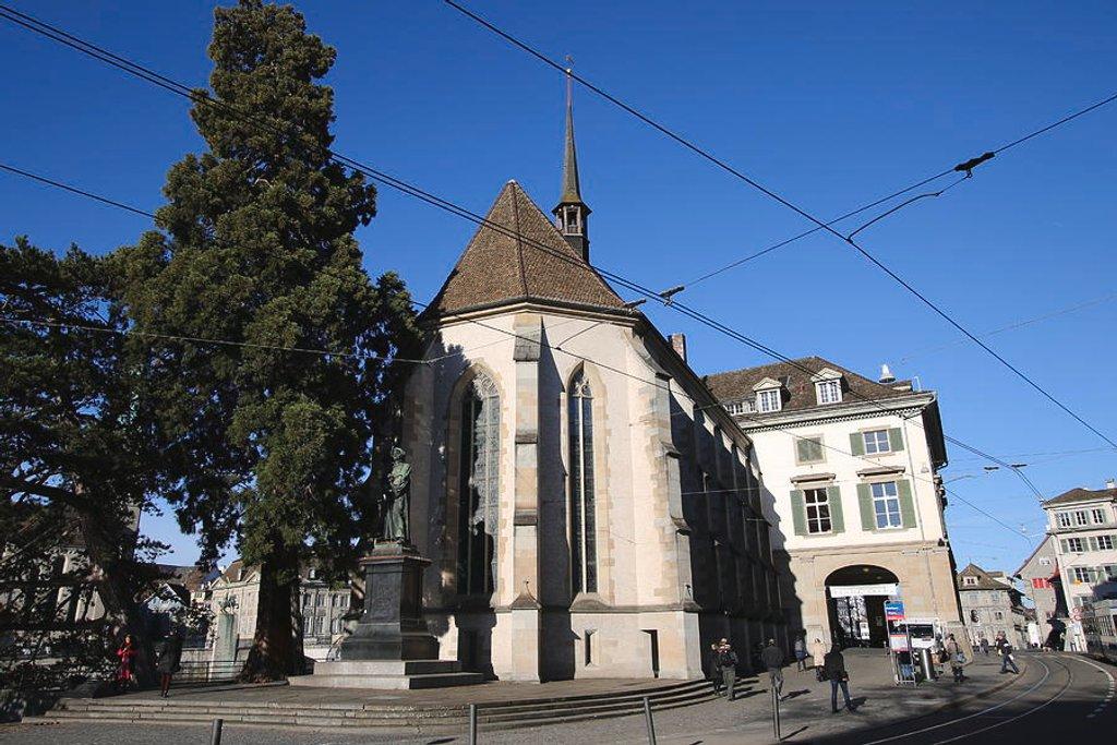 75 Wasserkirche - Limmatquai, Zurich by travel