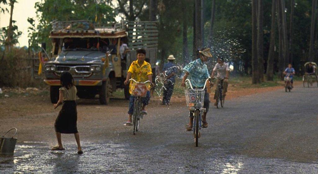 80 Songkran in Vientiane, Laos by travel