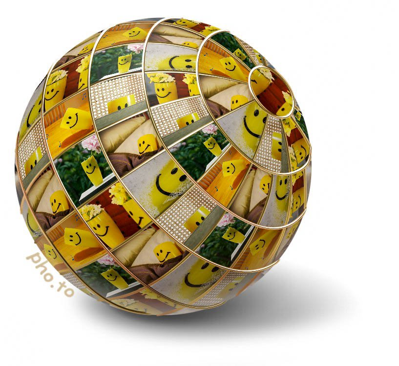 Smiley Cup globe by mittens