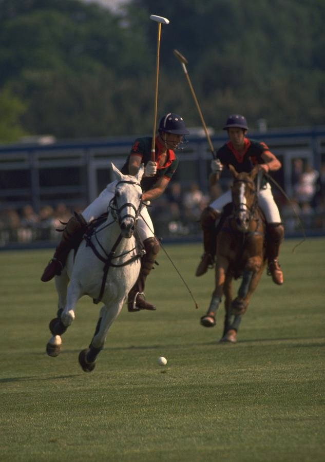 100 Prince Charles Playing Polo in Windsor by travel