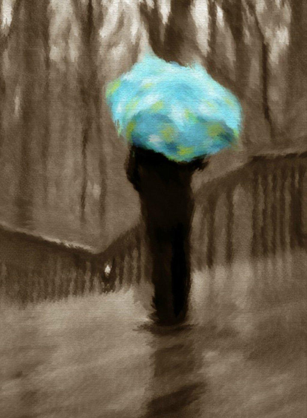 Rainy Day Wintertime Blues by alophoto
